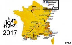 Le Tour de France is in volle gang
